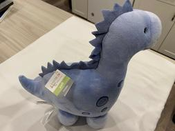 Bedtime Originals Blue Push Stuffed Dinosaur Roar Animal-Rex