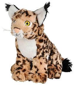 "Wildlife Tree 8"" Bobcat Lynx Stuffed Animal Plush Floppy Zoo"