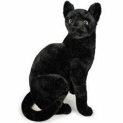Boone the Black Cat | 14 Inch Stuffed Animal Plush | by Tige