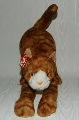 Brand New! Vintage Ty Classic Stretch 17 Inch Tabby Cat 1999