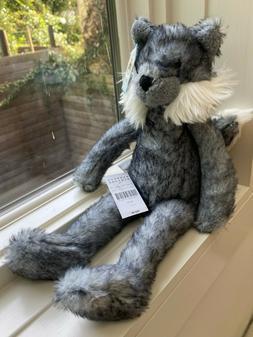 "Brand NEW - Jellycat ""Wilderness Wolf"" - Stuffed Animal Soft"