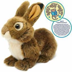 Brigid the Brown Rabbit | 10 Inch Stuffed Animal Plush Bunny