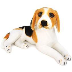 VIAHART Brittany The Beagle | 17 Inch Large Beagle Dog Stuff