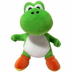 "Mario Bros 8"" Yoshi Plush Soft Stuffed Toy New"