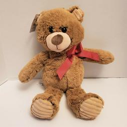 "Brown Bear 16"" Stuffed Animal Floppy Two Tone Super Soft"