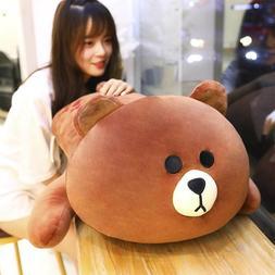 Brown Bear Stuffed Animals Toy Soft Pillow Bear Plush Toy cu