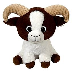 Fiesta Toys Brown Billy Goat Stuffed Animal Toy - 11 Inches