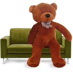 YXCSELL Brown Cuddly Super Soft Plush Stuffed Animal Toys Te