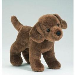 "Brownie Chocolate Lab 8"" by Douglas Cuddle Toys"