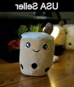 Bubble Tea Boba Plush Stuff Toy Kawaii Cute Plushie Gift 24c