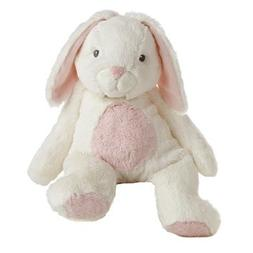 Bun Bun the Plush White and Pink Bunny Quizzies Stuffed Anim