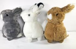 "Bunny Rabbit Plush 8"" Stuffed Animals Super Soft"