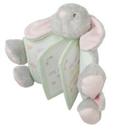 Ganz Small Bunny Stuffed Animal Baby Picture Book Toy Super