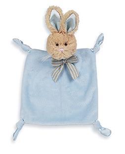Bearington Baby Wee Bunny Tail, Small Blue Bunny Stuffed Ani