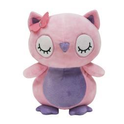 Bedtime Originals Butterfly Meadow Pink/Purple Plush Owl Stu