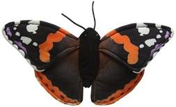 National Geographic 6 Piece Butterfly Plush Set - Red Admira