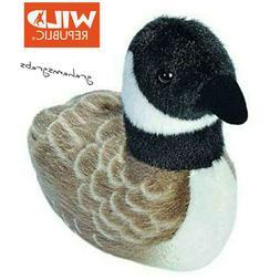 5 Inch Canada Goose Audubon Bird Stuffed Animal with Sound b