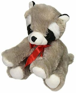 "Canned Critters Stuffed Animal: Raccoon 6"""