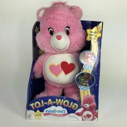 Care Bears Glow-A-Lot Love Plush