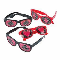 Casino Party Pinhole Glasses - Apparel Accessories - 12 Piec