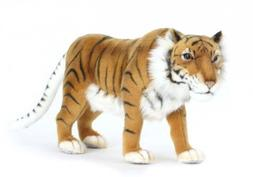 Hansa Caspian Tiger Stuffed Plush Animal, Small by Hansa