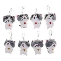 Cat Meow Collection Mini Plush Stuffed Dolls Cute Small Pend