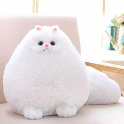 Cat Stuffed Animal Toys Gift Plush Cat Animal Baby Doll, Fat