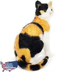 Catalina the Calico Cat | 13.5 inch stuffed animal plush | b