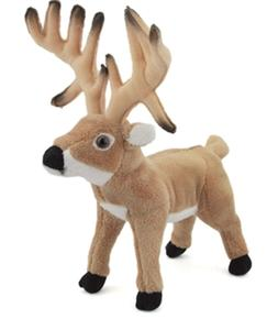 "10"" CC Whitetail Deer Buck Plush Stuffed Animal Toy - New"