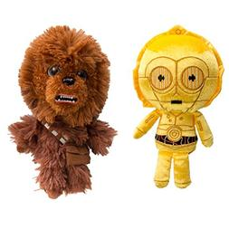 Star Wars Chewbacca and C3PO Funko  Disney Galactic Plushies