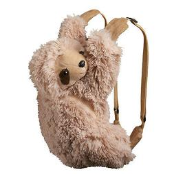 Wildlife Artists Sloth Plush Backpack Clip Toy Keychain 5.5 Stuffed Sloth Kids Stuffed Animals