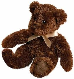 CHOCOLATE FUZZY BEAR Teddy Stuffed Animal - by Douglas Cuddl