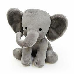 Bedtime Originals Choo Choo Gray Plush Elephant Stuffed Anim