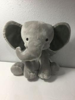 Bedtime Originals Choo Choo Gray Plush Elephant Stuffed Anim