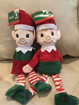 Christmas Plush Elf Set