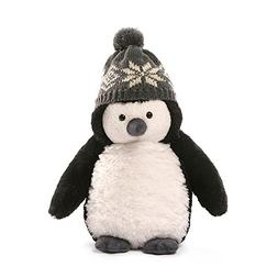 "Gund Christmas Puffers Penguin Plush, 10""/Small"