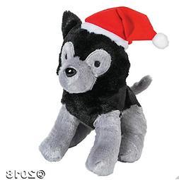 Fun Express - Christmas Stuffed Lap Dog - Christmas Item for