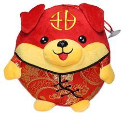 Lucore 7 Inch Chubby Puppy Dog Plush Stuffed Animal Toy Deco