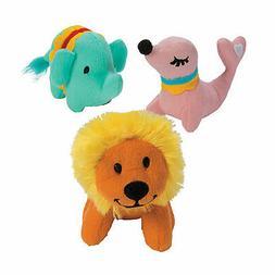 Circus Stuffed Animals - Toys - 12 Pieces