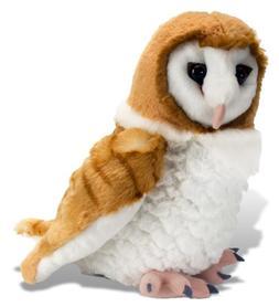 Wild Republic Barn Owl Plush, Stuffed Animal, Plush Toy, Gif