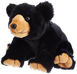 Wild Republic Black Bear Plush, Stuffed Animal, Plush Toy, G