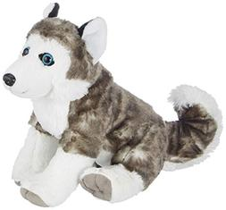 Wild Republic 30 cm Cuddlekins Husky Dog Plush Toy