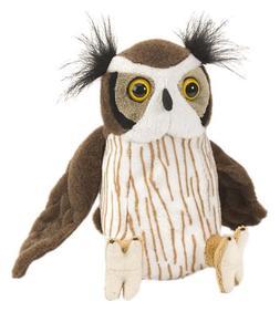 "Wild Republic CK-Mini Great Horned Owl 8"" Animal Plush"