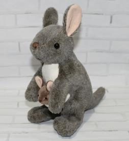 Wild Republic Kangaroo with Joey Plush, Stuffed Animal, Plus