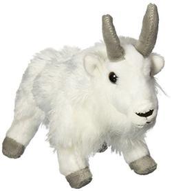 """Wild Republic CK-Mini Mountain Goat 8"""" Animal Plush"""