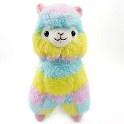 Showking 13CM Colorful Kawaii Alpaca Llama Arpakasso Soft Pl