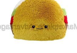 Squishable Comfort Food Taco Plush, Yellow, 15""