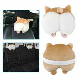 Corgi Cute Butt Throw Pillow Neck Support Pillow Cushion Ani