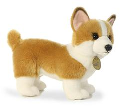 "11"" Corgi Dog Plush Stuffed Animal Toy - New"