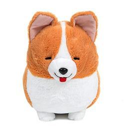 Amuse Corgi Plush Doll Ichi Ni no Dog Corgi Stuffed Animal H